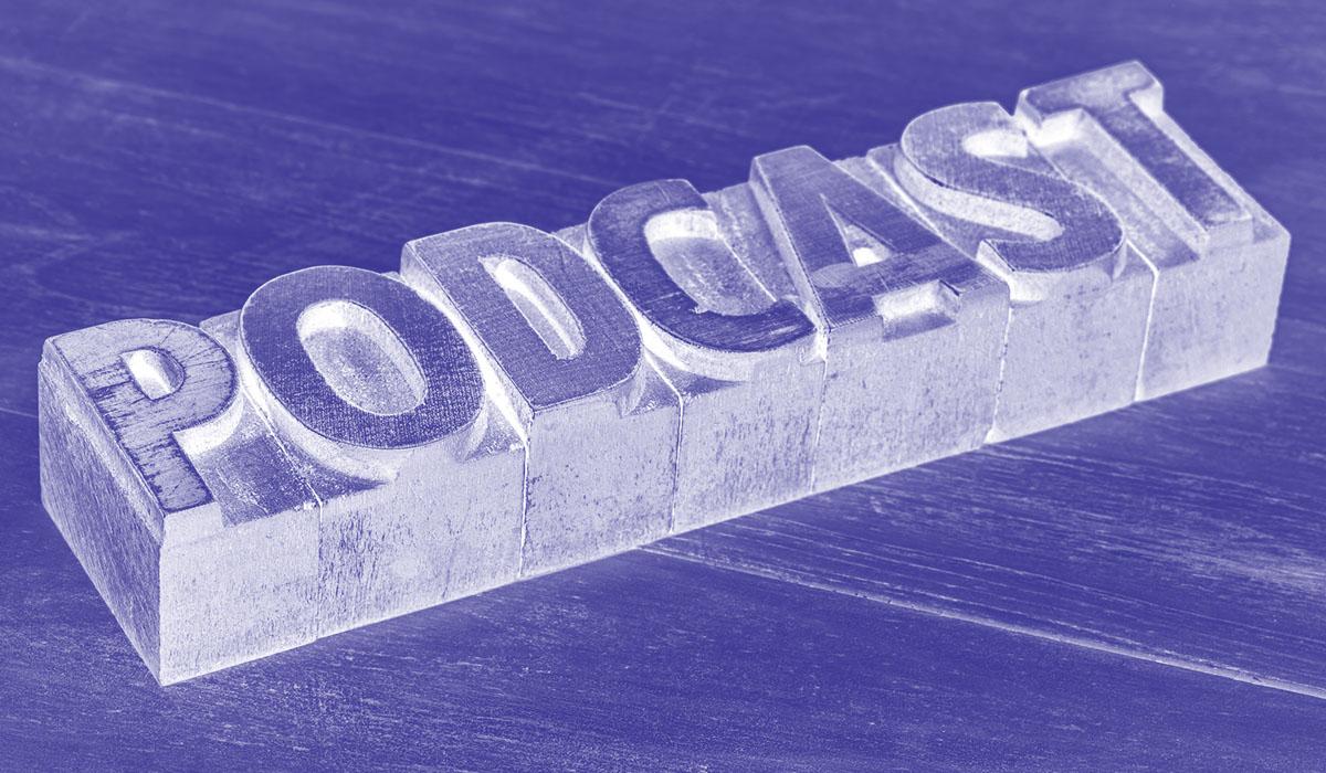 hosting podcast