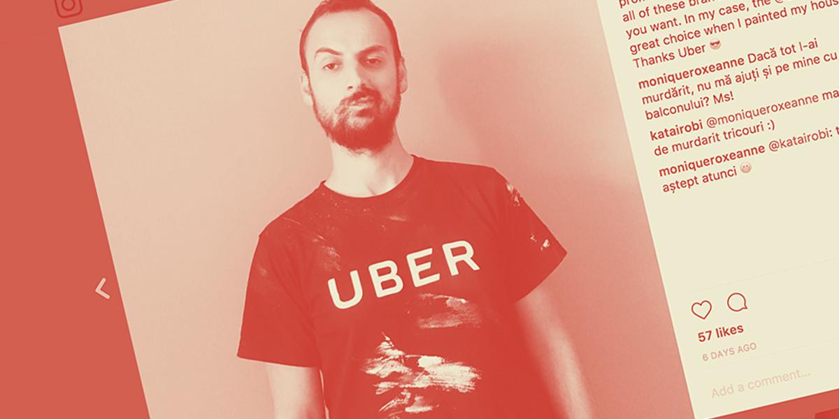 tricou uber